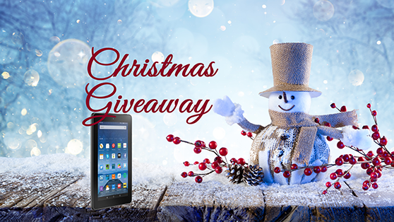 Christmas Giveaway: Win a 7″ Kindle Fire