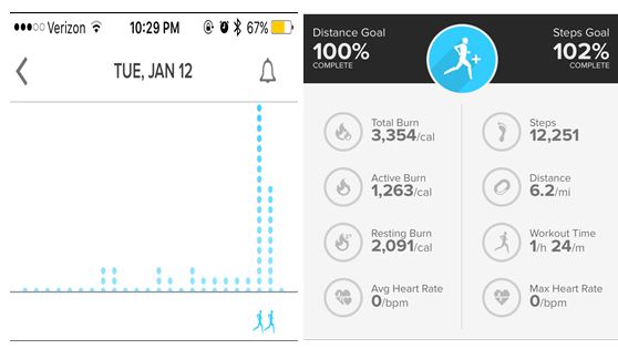 #FitReaders 2016 – January Goal Reached